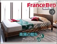 脚付きタイプアバカベッド 【Plumeria】プルメリア