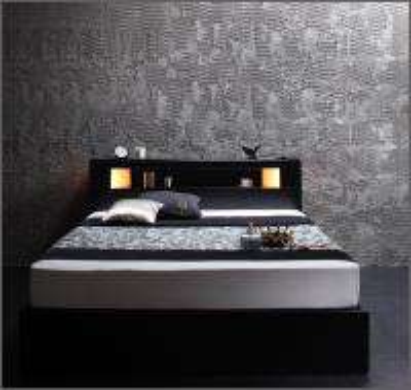 収納付きベッド 【Modellus】モデラス