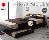 収納付きベッド 【Roi-long】ロイロング