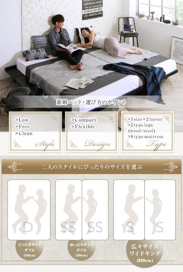 新婚ベッドの選び方
