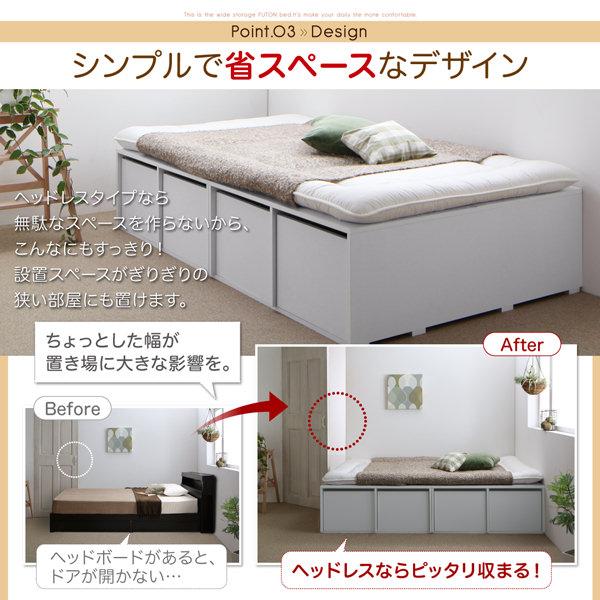 シンプルで省スペースなデザイン