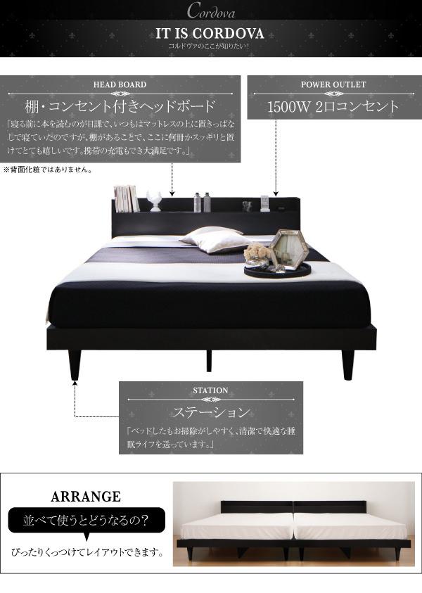 デザインベッド【Cordova】コルドヴァココが知りたい