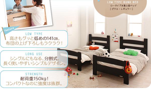 シングルベッド分割画像