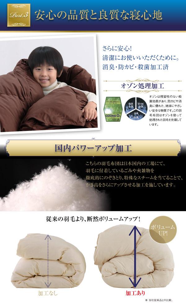 安心の品質と良質な寝心地