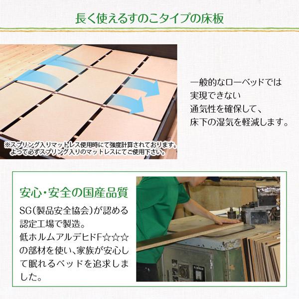 長く使えるすのこタイプの床板