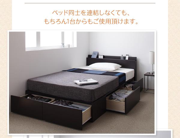 ベッド単体でも使用可能
