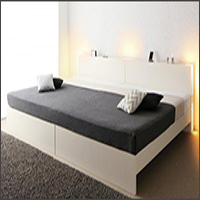 国産 連結式すのこファミリーベッド【LANZA】ランツァ