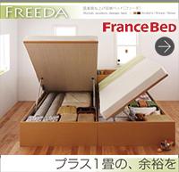 跳ね上げ収納ベッド【Freeda】フリーダ