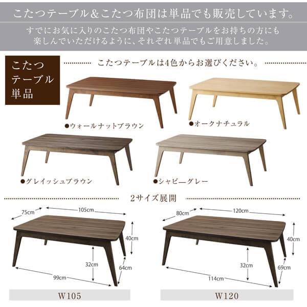 こたつテーブルサイズ