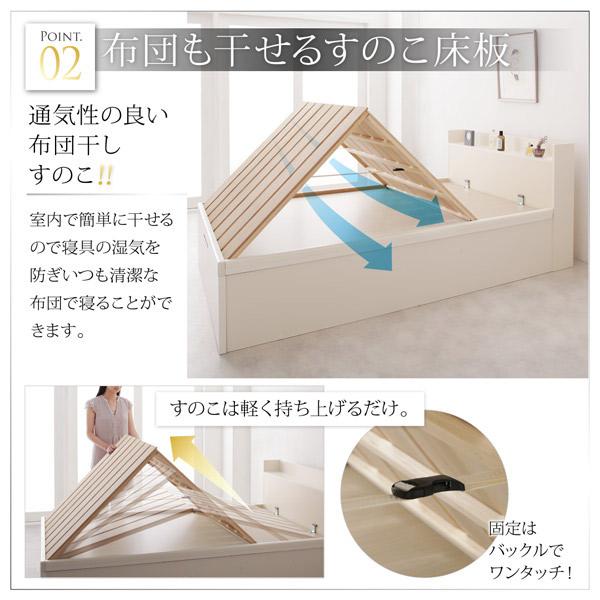 布団も干せるすのこ床板