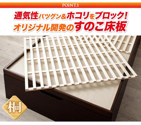 オリジナル開発のすのこ床板