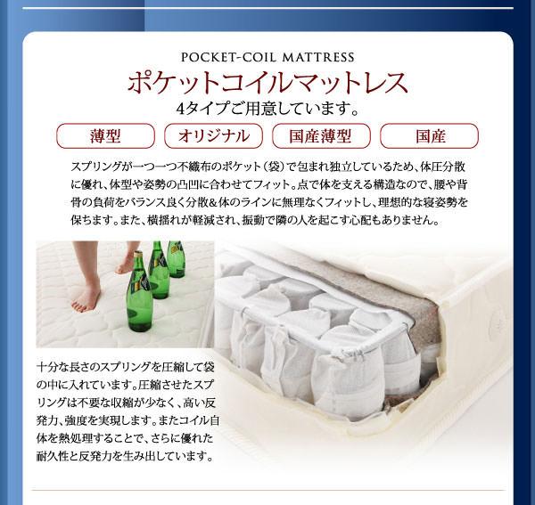 ポケットコイルマットレス