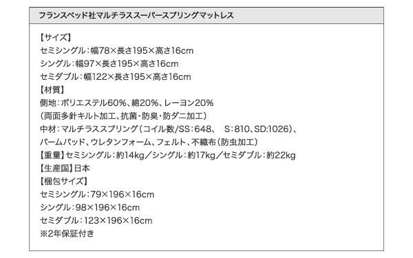 """<img src=""""http://e-kinoshita.net/pic-labo/lift_up_bed_kezia_37.jpg"""" alt=""""マルチラスマットレス詳細"""