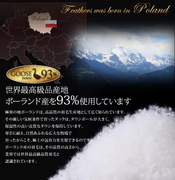 ポーランド産を93%使用しています。