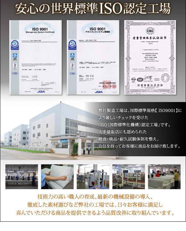 安心の世界標準工場