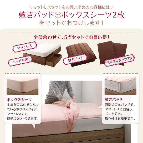 敷きパッド+ボックスシーツ