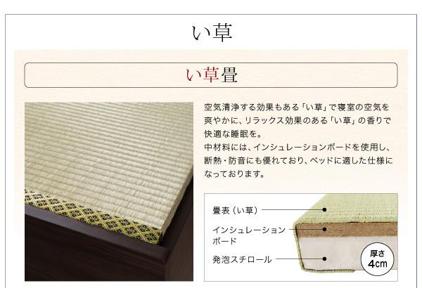 日本古来のい草畳