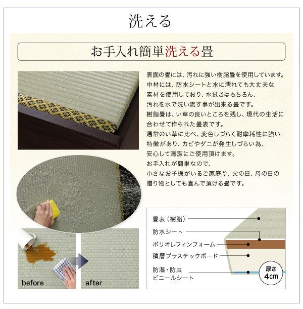 簡単洗える畳