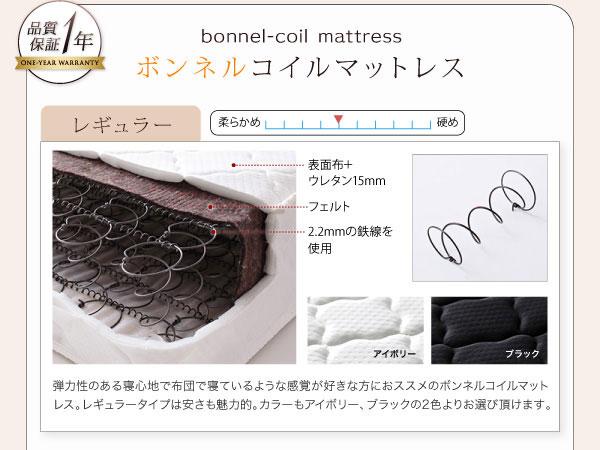 ボンネルコイルマットレス:レギュラータイプ