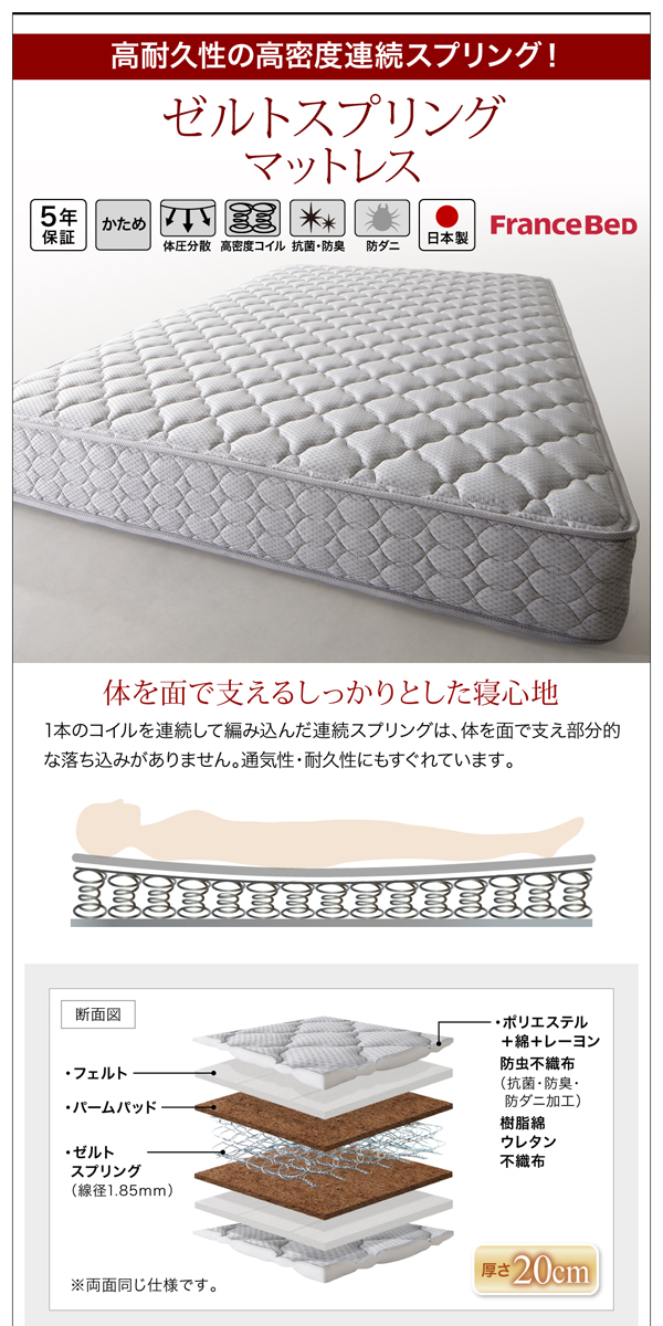 収納付きベッド【Farben】ファーベン詳細