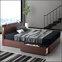 収納付きベッド【Federal2】フェデラル2