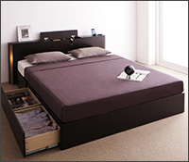 収納付きベッド【Grandsol】グランソル