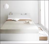 収納付きベッド 【ma chatte】マシェット