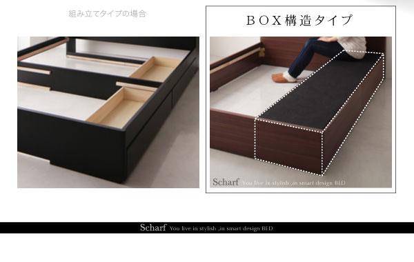 BOX構造と通常の引き出しとの比較
