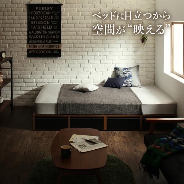 """ベッドは目立つから空間が""""映える"""""""