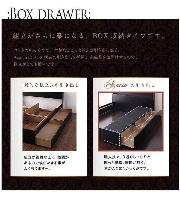 BOX収納で組立簡単