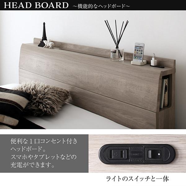 HEAD BOARD ?機能的なヘッドボード?