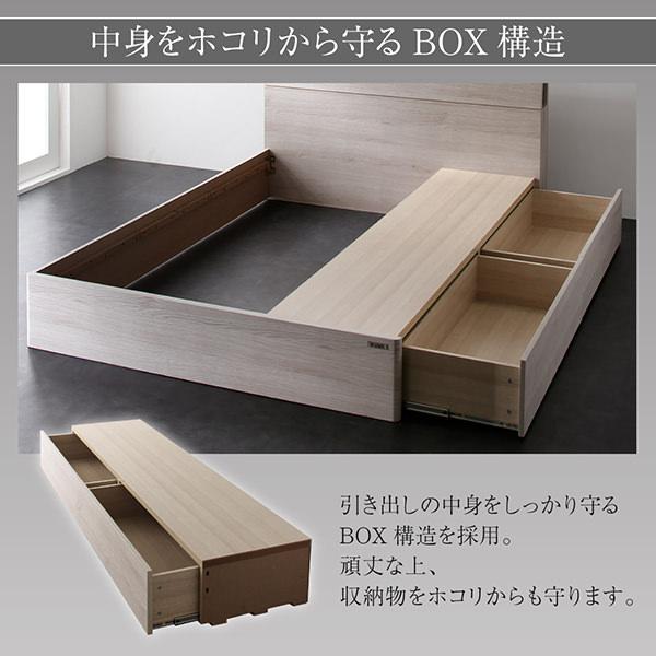 中身をホコリから守るBOX構造