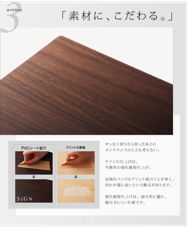 表面材質は、不燃性の強化樹脂仕上げ