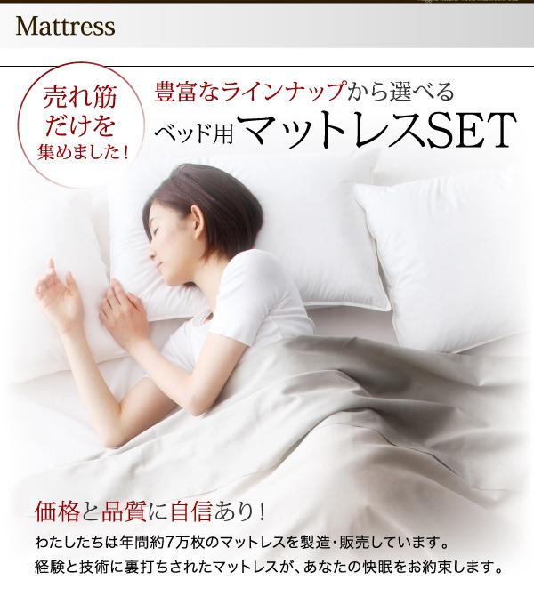 ベッド用マットレスセット