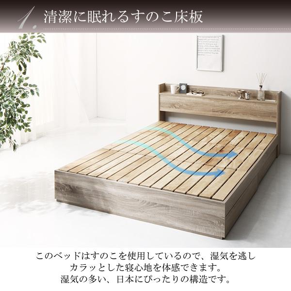 清潔に眠れるすのこ床板