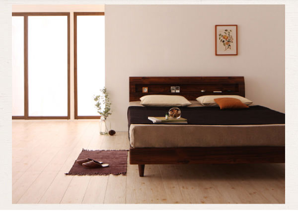 デザインすのこベッド 【Kleinod】クライノート
